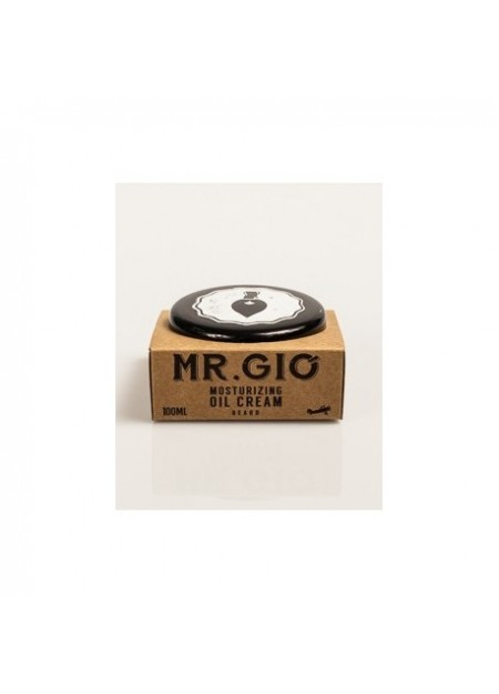 MR GIO' - CREMA AMMORBIDENTE DA BARBA - MOISTURIZING OIL CREAM - 100ml