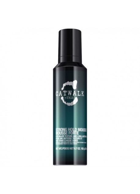 TIGI CATWALK- STRONG HOLD MOUSSE FISSAGGIO FORTE 200ML