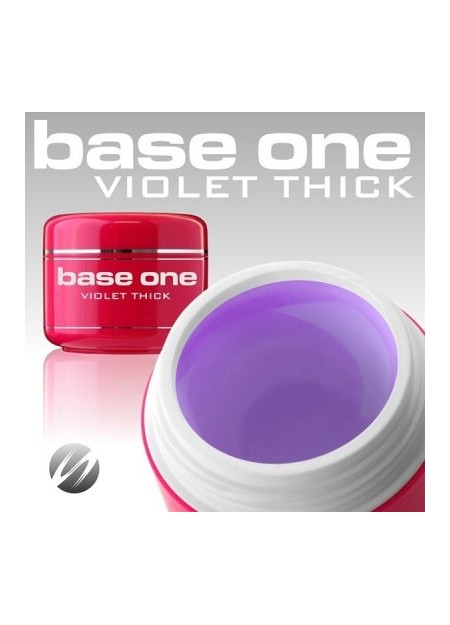 SILCARE BASE ONE - gel builder violet thick 30gr