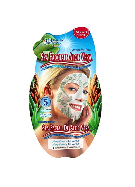 7th Heaven - MASCHERA IN TNT ALL'ALOE -MONTAGNE JEUNESSE