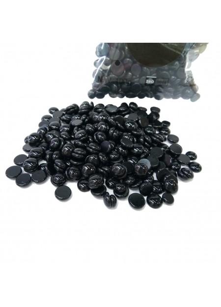 BLACK WAX - Cera depilatoria nera senza strisce - 100g