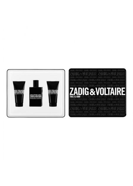 ZADIG & VOLTAIRE - THIS I HIM COFANETTO 2 GEL DOCCIA 50ML + EDT 50ML