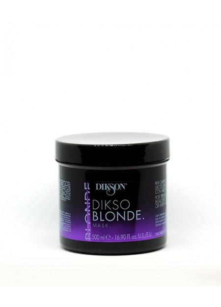 DIKSO BLONDE - maschera per capelli trattati, decolorati o con mèches 500ml