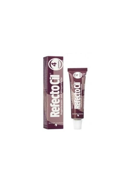 REFECTOCIL - Tintura per sopracciglia, ciglia e barba colore marrone castagna 4