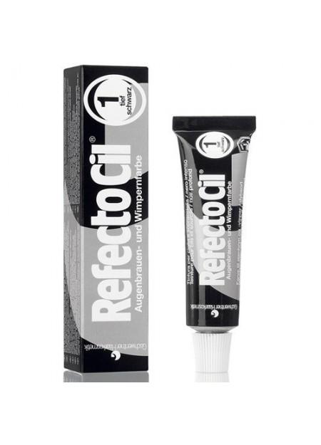 REFECTOCIL - Tintura per sopracciglia, ciglia e barba colore nero 1