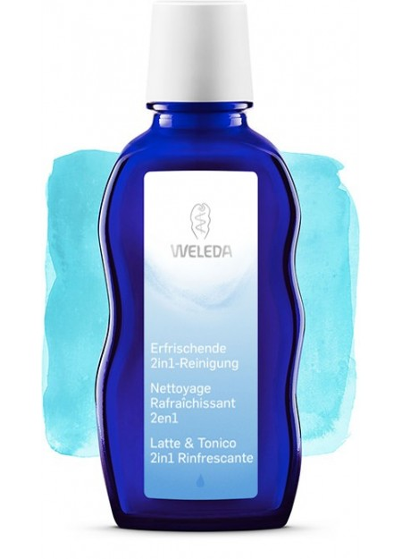 WELEDA- Latte & Tonico 2in1 Rinfrescante 100ml
