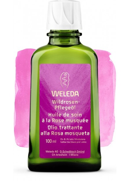 WELEDA- Olio trattante alla Rosa Mosqueta 100ml